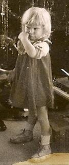 elizabeth with depression at age 2